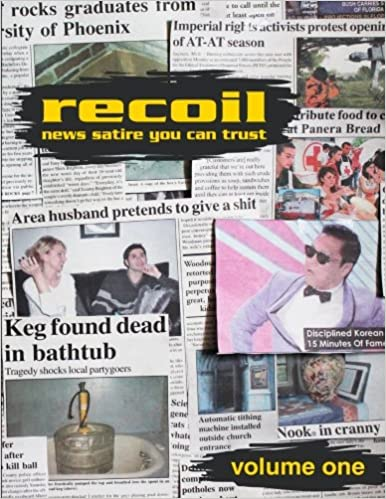 Recoil News Satire You Can Trust Volume One Amazon Co Uk Cliff