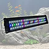 MegaBrand 24-30 Inch 78 LED Aquarium Lighting Fish Tank Light Fixture by MegaBrand
