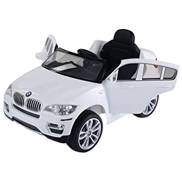 Costway Kids Electric Battery Car Bmw X6 12v Ride On Remote Control
