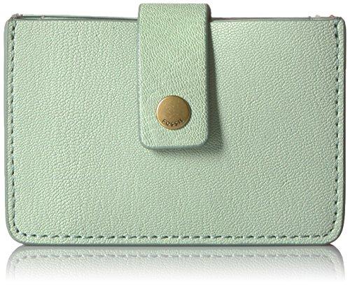 Fossil Women's Mini TAB Wallet, Misty Jade, One Size ()