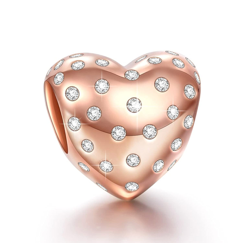 pandora charms rose gold