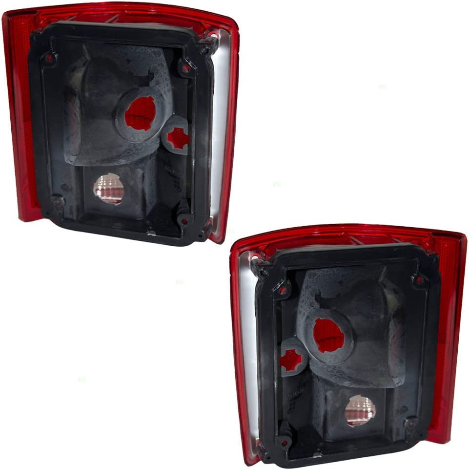 Replacement Rear Tail Light Lamps Left /& Right BuyRVlights Fleetwood Excursion 2005-2007 RV Motorhome Pair