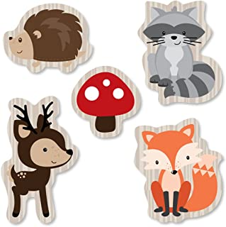 product image for Big Dot of Happiness Woodland Creatures - DIY Shaped Baby Shower or Birthday Party Cut-Outs - 24 Count
