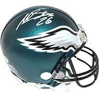 $69 » Miles Sanders Autographed/Signed Philadelphia Eagles Mini Helmet BAS