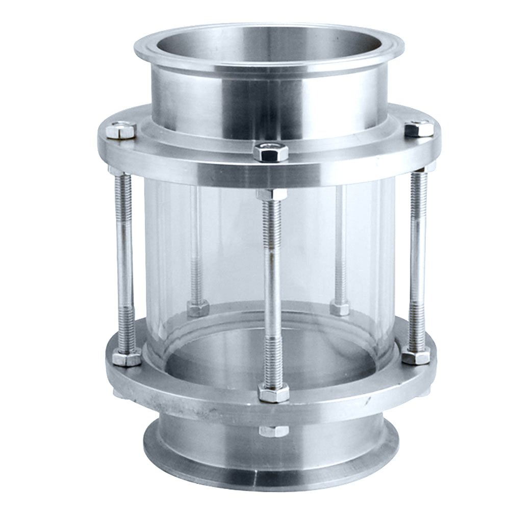 Piupe Flow Stainless Steel SS316 Sanitary Sight Glass Tri Clamp Type (4''-102MM) by Piupe (Image #3)