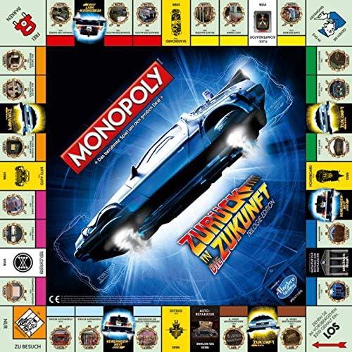 Winning Moves win44277 Monopoly: Regreso al Futuro, Juego: Amazon.es: Juguetes y juegos