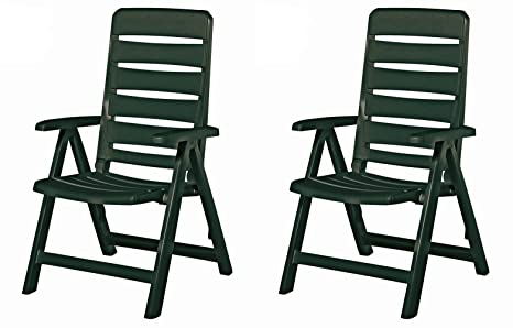 Sedie Blu Nizza : Kettler nizza mobili da giardino sedia pieghevole in verde