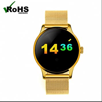 Reloj Inteligente Smartwatch Bluetooth con Notificación de ...