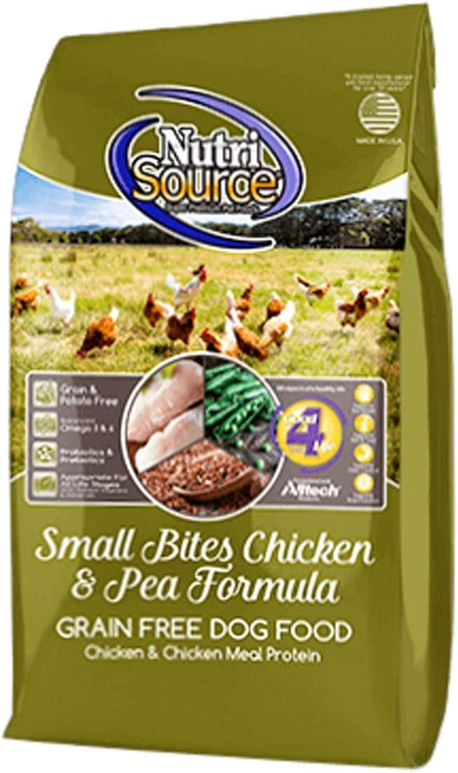 Nutrisource Grain Free Chicken Small Breed Dog Food 15Lb