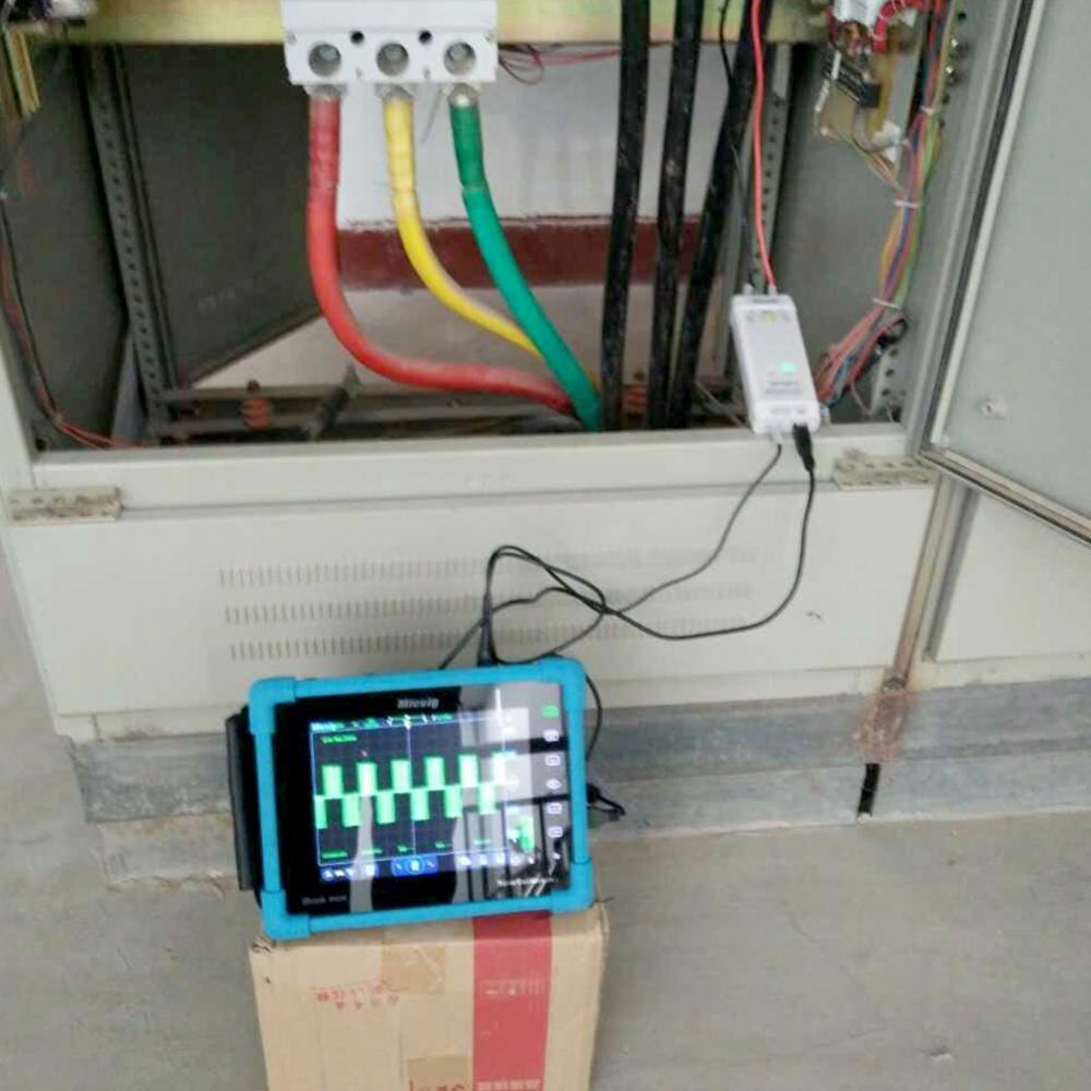 Akozon Sonde Oscilloscope Diff/érentielle Haute Tension DP10013 Oscilloscope 1300V 100MHz Oscilloscope Sonde-3.5ns Temps de mont/ée-50X 500X Attenuation-Overroad alarme