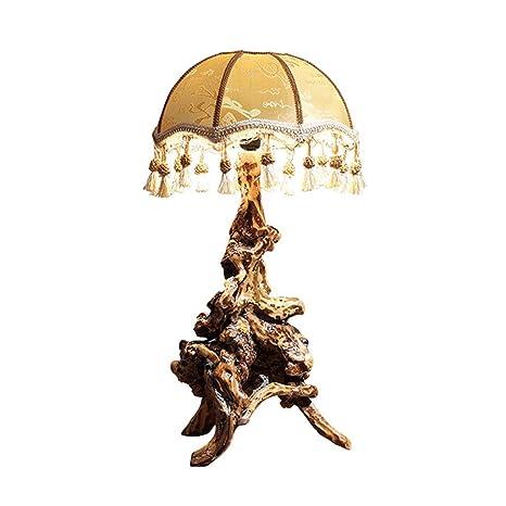 Sencillo Nuevo Chino Lámpara de Mesa Sala de Estar Estudio ...