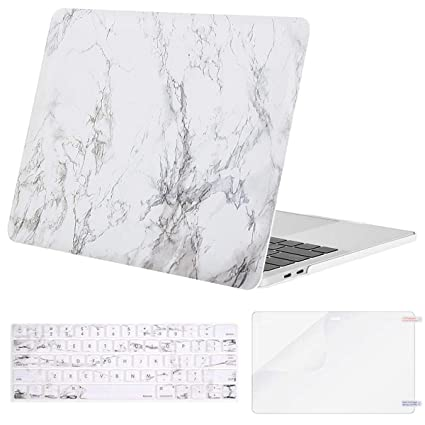 purchase cheap d8367 3fca2 MOSISO MacBook Pro 15 inch Case 2019 2018 2017 2016 Release A1990 A1707,  Plastic Pattern Hard Shell & Keyboard Cover & Screen Protector Compatible  ...