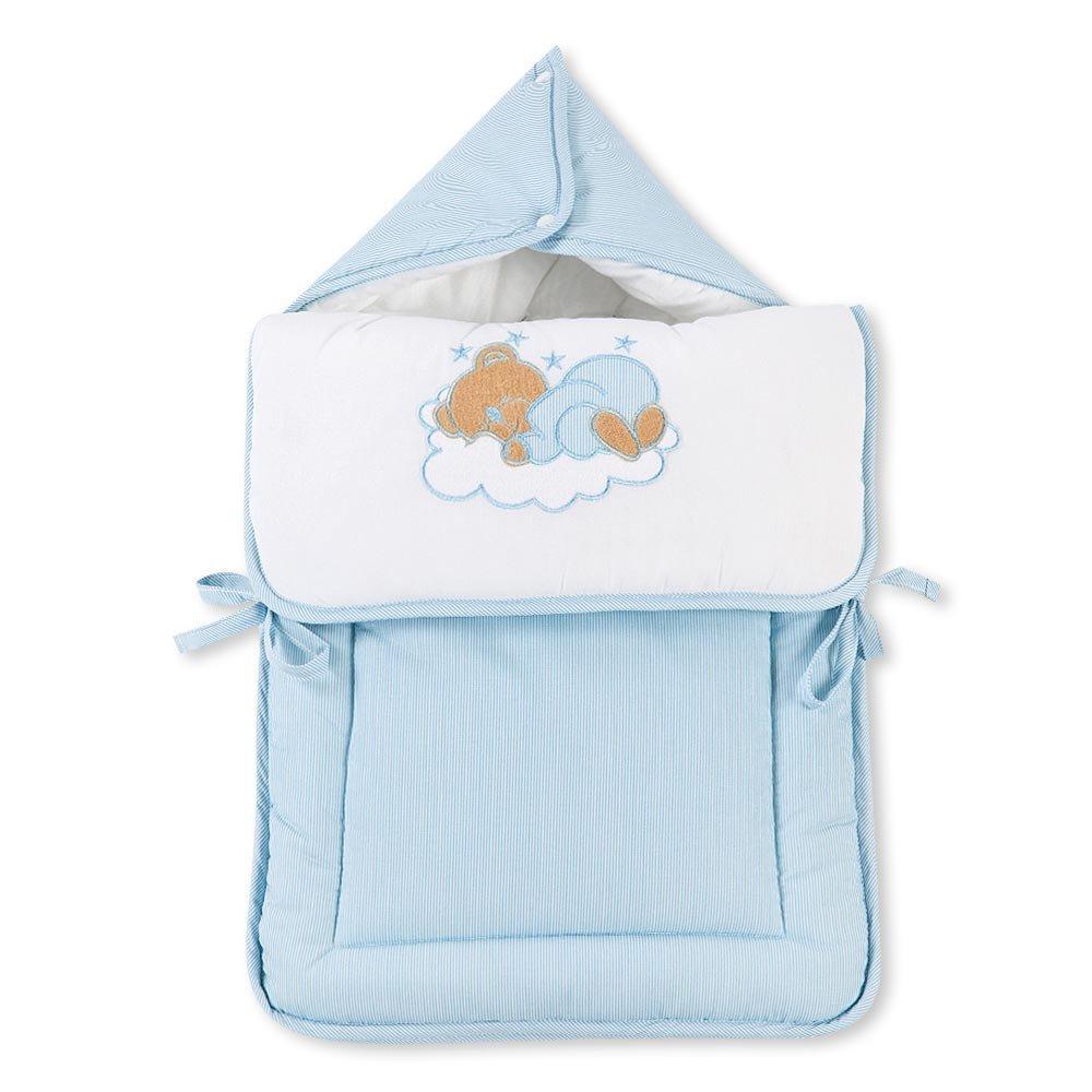 Fuß- und Kuschelsack mit Gurtschlitz von Sleeping Bear in 5 Farben erhältlich, Farbe:Beige Mixibaby