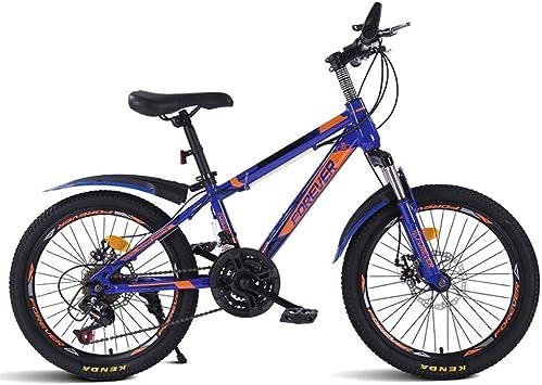 ZLXLX Bicicleta de Montaña Bicicleta 20 Pulgadas 21 Velocidad Estudiante de Secundaria Fuera de Carretera Hombres Y Mujeres Bicicleta para NiñOs Carreras de NiñOs Adecuado para Usar Como Bici: Amazon.es: Bricolaje y