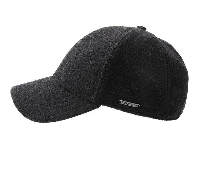57cc19f687313 Stetson Men s Baseball Cap Lined Baseball Cap Size M at Amazon Men s  Clothing store
