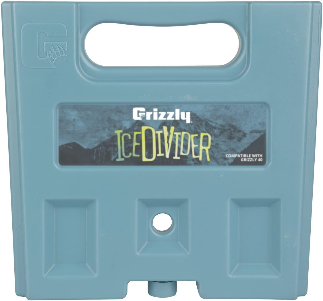 Grizzly IceDivider Ice Pack Cooler Divider, 4 lb