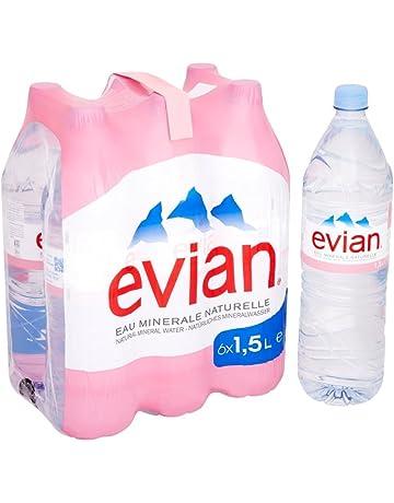 d9f6960073 Evian Still Natural Mineral Water, 6 x 1.5 Litre