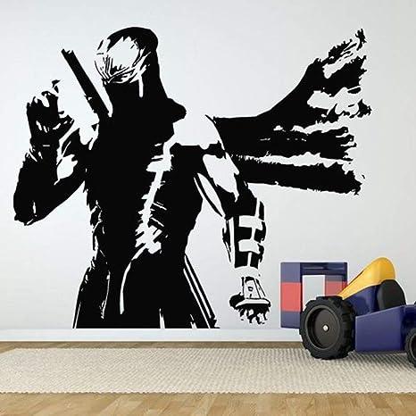 jiushizq Kendo Samurai Calcomanía Calcomanía Japón Ninja ...