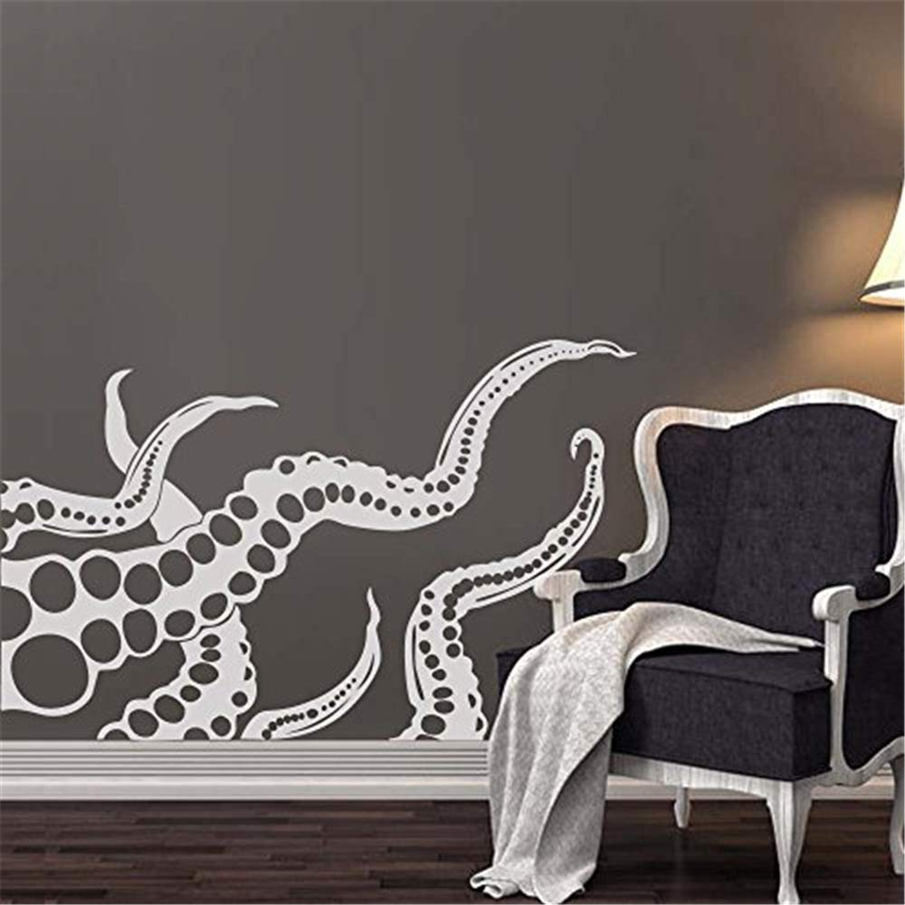 pegatinas de pared disney Pulpo tatuajes de pared tentáculos ...