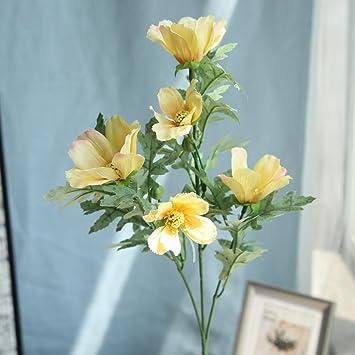 Amazon.com: Flores artificiales para decoración, vibola ...