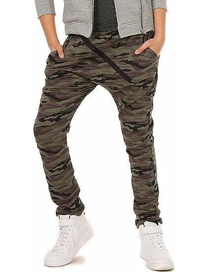 Dykmod - Pantalon - Baggy - Garçon  Amazon.fr  Vêtements et accessoires 86419f073ecf