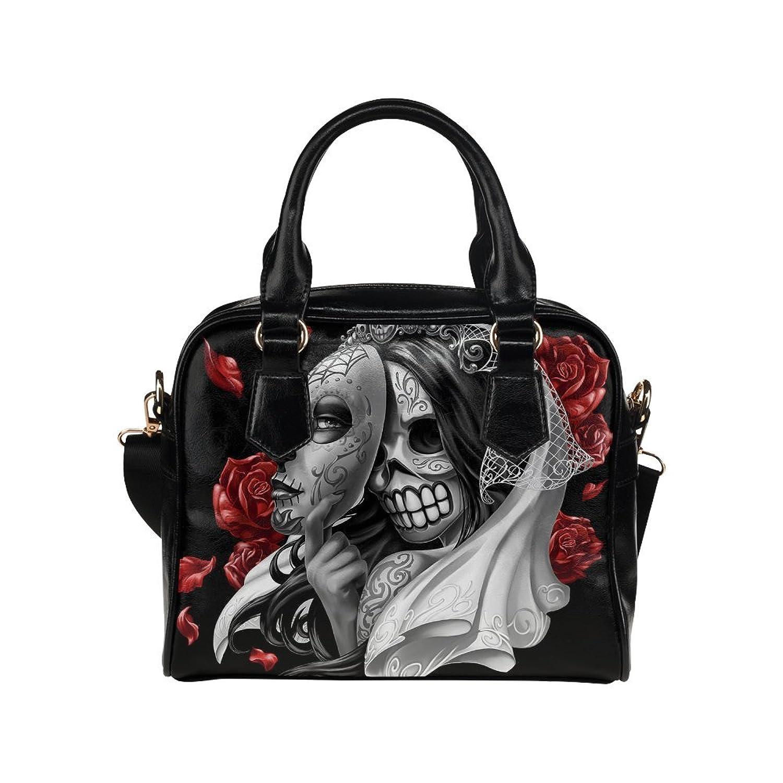 InterestPrint Sugar Skull Women's Shoulder Handbag/Tote Bag/Travel Bag
