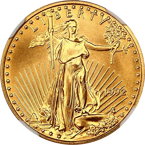 1992 P $10 Gold Eagles Gold Eagle Ten Dollar MS69 NGC