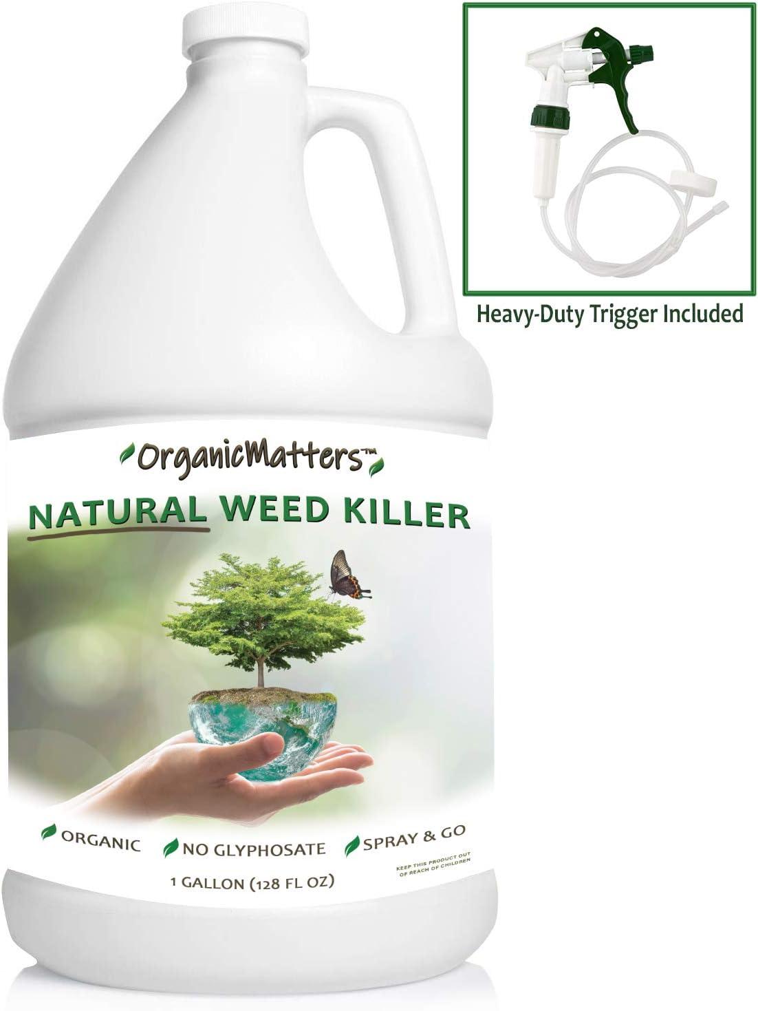 Organic Matters Natural Weed Killer Spray