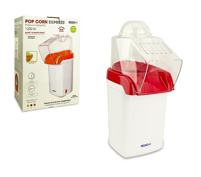 792903A Máquina para hacer palomitas express DICTROLUX aire caliente sin aceite - Rojo: Amazon.es: Hogar