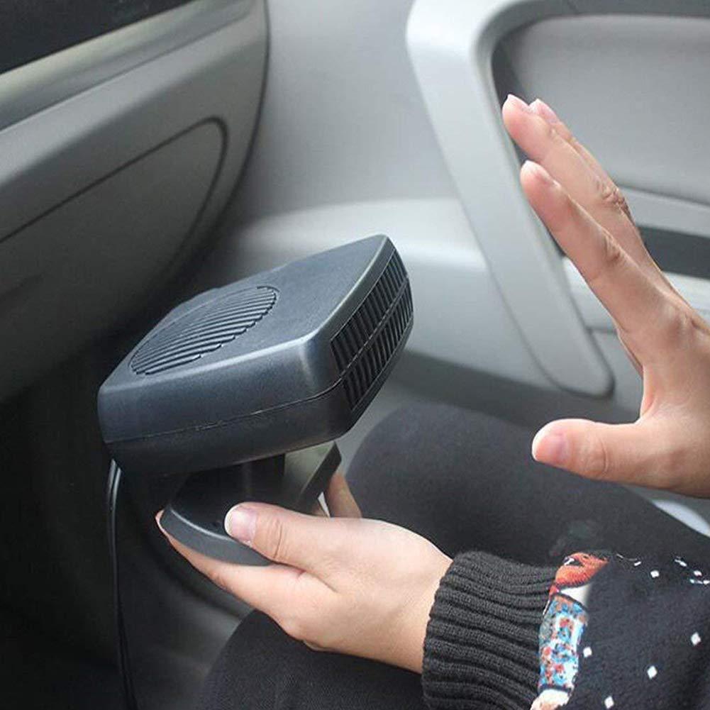 Riscaldamento Rapido per Auto 500w Riscaldatore Elettrico per Auto Riscaldamento Rapido Scongelatore Demister 24v yongqxxkj Riscaldatore per Auto 12v