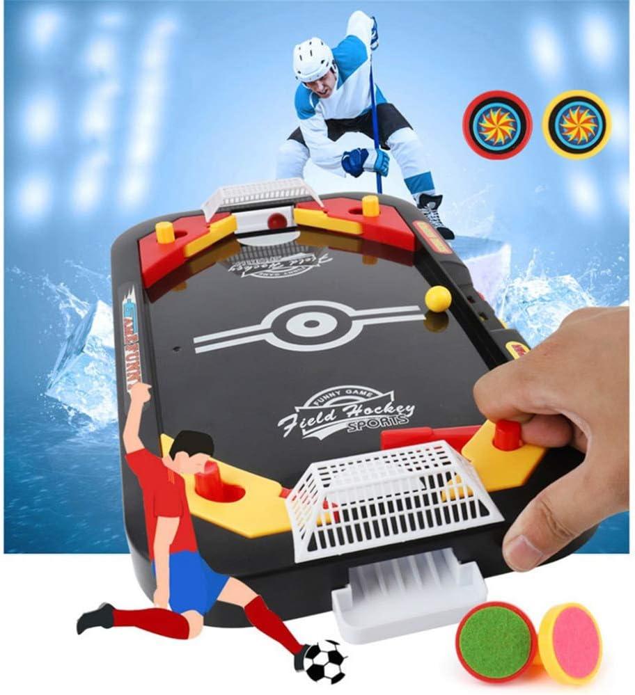 CHAN 2 En 1 Hockey sobre Hielo Tabla Juego Competitivo del Juego del Mini Fútbol De La Tabla Padre-Hijo De Interactivo Niños Juguetes Educativos: Amazon.es: Deportes y aire libre