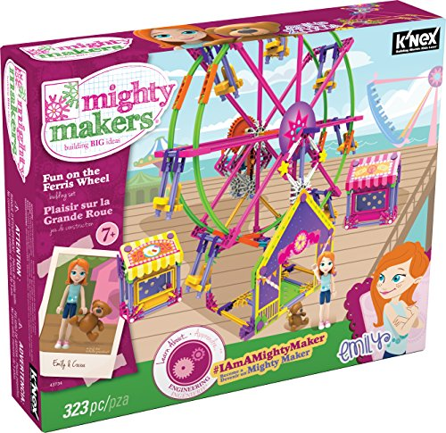 (K'NEX Mighty Makers Fun On The Ferris Wheel Building Set)