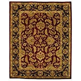 Safavieh Heritage Collection HG628C Handcrafted Traditional Oriental Red and Black Wool Area Rug (12′ x 18′) Review