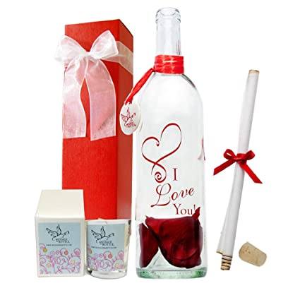 eea9280e2c12 Image Unavailable. Image not available for. Color  Message In A Bottle ®   quot CUPID quot  Personalized Gift