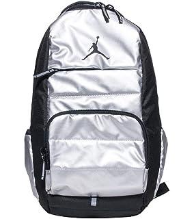 Amazon.com  Nike Air Jordan Jumpman Black Book-Bag BackPack 9A1118 ... bc77f3ee0e