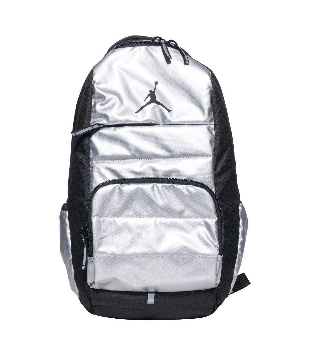 Amazon.com : Jordan Jumpman Boys All World Backpack Metallic Silver : Sports & Outdoors