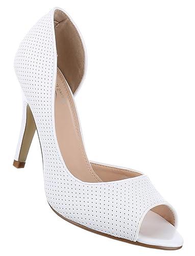 487a9468d1f7 Schuhcity24 Damen-Schuhe Pumps   Frauen High Heels mit 10 cm Stiletto-Absatz  in