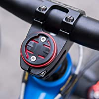 CYSKY Garmin Edge Mount, Fahrradvorbau-Halterung für Garmin Bryton Radfahren GPS Computer, passend für Garmin 1000,820,810,800, 520,510,500,200 und Bryton 530 330 310 100 (Schwarz)