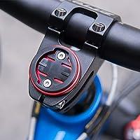 CYSKY Garmin Edge Support pour Tige de vélo pour Ordinateur Garmin Bryton Cycling GPS, Compatible avec Garmin 1000, 820, 810, 800, 520, 510, 500, 200 et Bryton 530 330 310 100 (Noir)