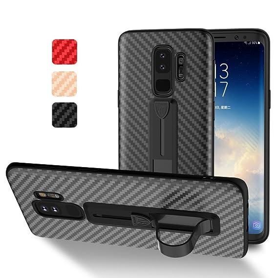 new style bb706 5050c Samsung Galaxy S9 Case Carbon,XUNDD Ultra Soft TPU Hybrid 3D Carbon Fiber  Texture Back Cover [Anti-Slip] [Kickstand][Lightweight] Samsung Galaxy S9  ...