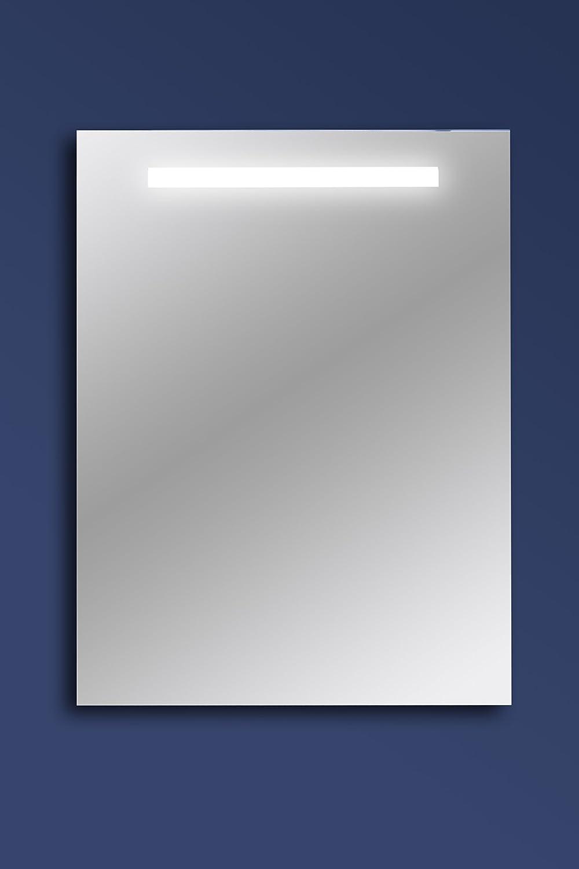 Specchio Bagno retroilluminato MOD. POSEIDON cm 60x70: Amazon.it ...