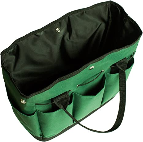Foraer Sac /à Outils pour Jardin Multi Fonction Oxford Fabric Garden Box Bag pour Kit de Jardinage avec Sac de Rangement
