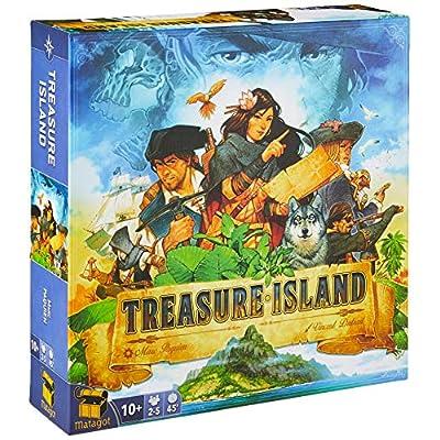 Matagot TRI01 Treasure Island, Multicolor: Toys & Games