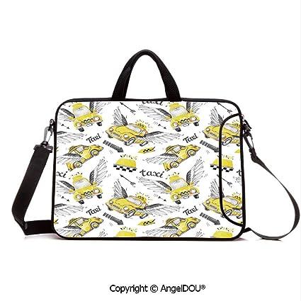 4578d17cc6a2 Amazon.com: AngelDOU Neoprene Printed Fashion Laptop Bag Watercolor ...