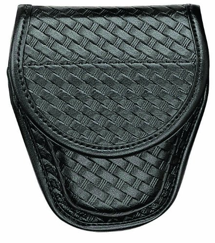 Bianchi 7918 BSK Black Hiatt S Ul-1 Cuff Case with Hidden Snap Closure