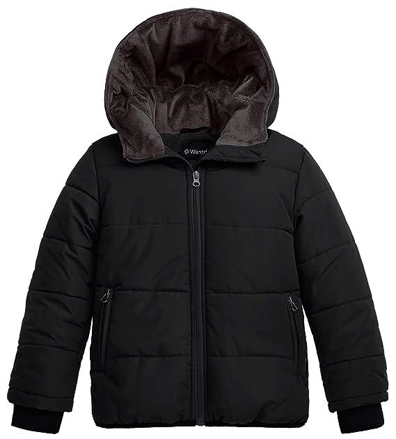 Amazon.com: Wantdo - Chaqueta de invierno con capucha para ...