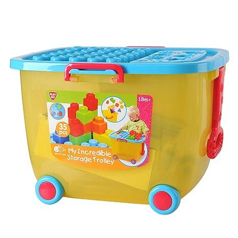 PlayGo 2242 - Mi gran carro de juguete, 35 pieza