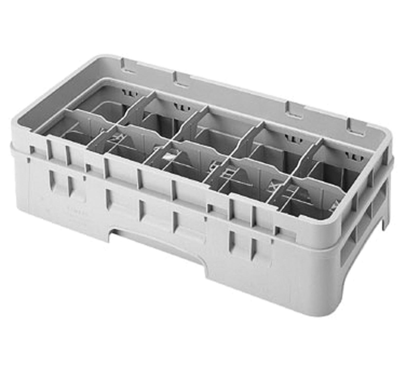Cambro (10HC414151) 10 Compartment Half Size Cup Rack - Camrack
