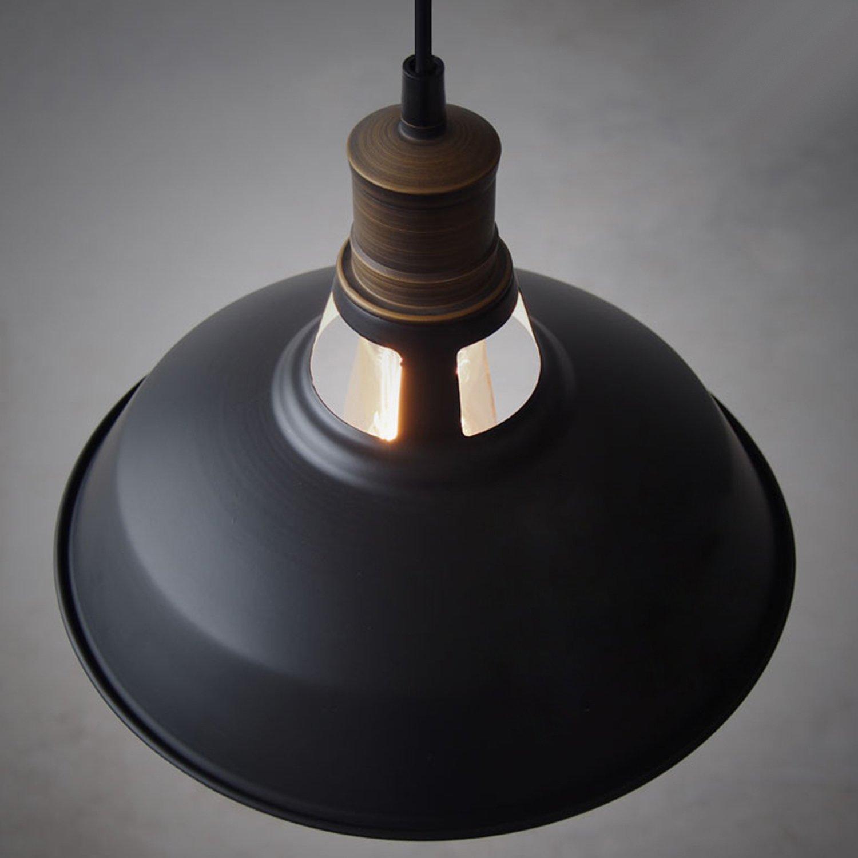 CLAXY Ecopower Industrial Barn Mini Metal Pendant Light 1 Light by CLAXY (Image #8)