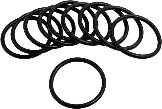 sourcing map Automobile 95mm x 5mm Gummi O-Ring /Öldichtung Dichtungring 10 St/ücke de DE de